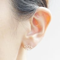 Strong Character Simple Design Stylish Hollow Out Innovative Accessory [11312713108]