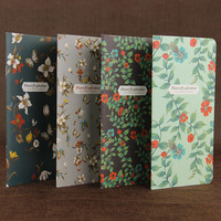 1pcs Retro Stationery Notepad Office Supplies School Butterflies Series Notebook Diary Book Students