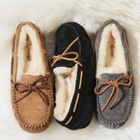 UGG Trending Women Simple Warm Bow Shoes I