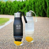 H20 Fruit Infusion Detox Water Bottle (650ml)