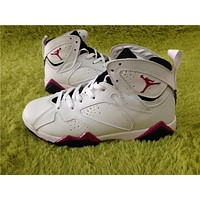 Air Jordan 7 White powder Basketball Shoes 36-40