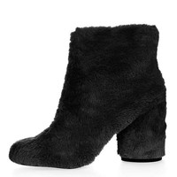 HAIRY-HARRY Fur Ankle Boots