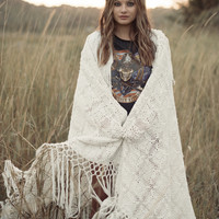 White Sands Crochet Throw | Spell & the Gypsy Collective