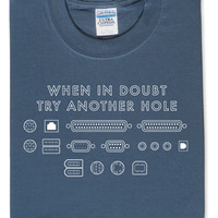 Try Another Hole T-Shirt - Harbor Blue,