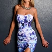 Catch The Bouquet Dress Print - Dresses - Clothes