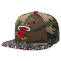 New Era Miami Heat NBA Camo Hooked 5950 Fitted Hat