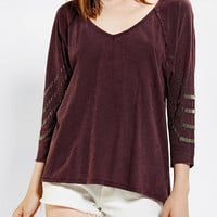 Ecote Dallas Sequin Top
