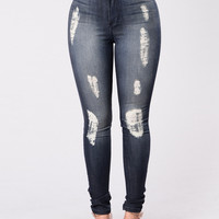 Monece Jeans - Dark Blue
