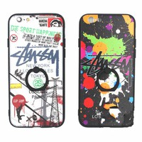 Hot Giraffe Stussy Print Iphone 8 8 Plus/7 7 Plus/ 6 6s Plus Cover Case