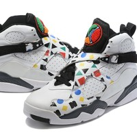 Air Jordan 8 Retro White/Colorful Size 40-47