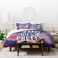 Leah Flores So Pretty Duvet Cover