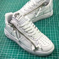 Acronym X Nike Lunar Force 1 Af1 Low Triple White Sneakers - Best Online Sale