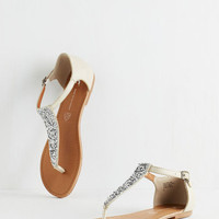 Mirrored Mosaic Sandal