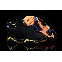 Air Jordan 7 Retro Aj7 304775 135 Black Nike Basketball Shoe Us 8 13 | Best Deal Online