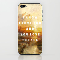 Ship of Unbelievers iPhone & iPod Skin by Modern Vampires of Art History