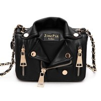 Brand Designer Chain Motorcycle Bags