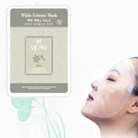 Natural Beauty White / Brightening Essence Full Face Mask 10 Pcs:Amazon:Beauty