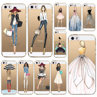 Modern Fashionista Style Iphone Case