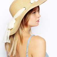 Oasis Floppy Bow Hat
