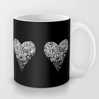 two sparkling hearts Mug by Marianna Tankelevich