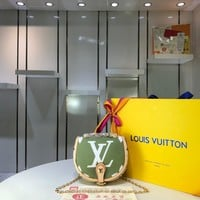 Kuyou Gb29824 Louis Vuitton Lv M44586 Chain Wallet Monogram Giant Messenger Bag