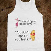 WINNE THE POOH - HOW DO YOU SPELL LOVE?