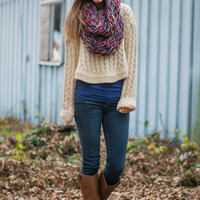 The Shortcut Sweater, Natural