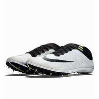 Nike Zoom Mamba 3 Distance Track & Field Spikes White 706617-106 Mens 12