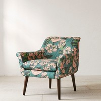 Polly Floral Print Arm Chair | Urban Outfitters