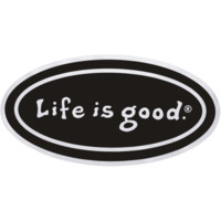 See-Thru Car Decal Bumper Sticker| Positive Car Stickers | Life is good