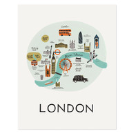 London Art Print by RIFLE PAPER Co. | Made in USA