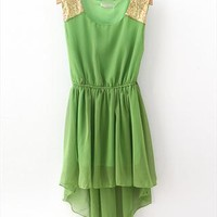 Nice High-Low Chiffon Dress-2 from cassie2013