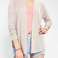Urban Outfitters - Pins And Needles Pointelle Tulip Side Cardigan