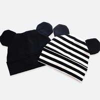 ear child baby winter hat boys girls caps kids cotton knitted baby beanies newborn accessories newborn girls toddler infant hat