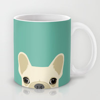 French Bulldog Mug by Anne Was Here