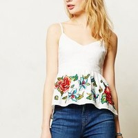 Sereno Embroidered Cami by Maeve White