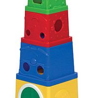 Melissa & Doug Stacking Buckets Learning Toy