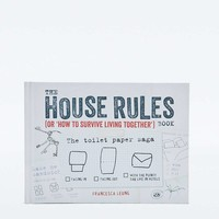 """The House Rules Book: or """"How to Survive Living Together"""" Book - Urban Outfitters"""
