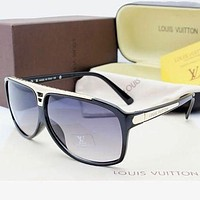 Louis Vuitton LV Woman Men Fashion Summer Sun Shades Eyeglasses Glasses Sunglasses-5