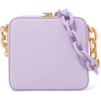 THE VOLON - Cube Chain textured-leather shoulder bag