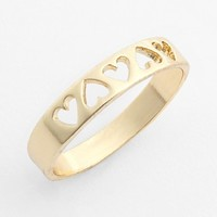 South Sun Cutout Heart Ring | Nordstrom