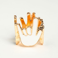 HAND SIGNS RING