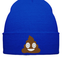 emoji shit Bucket Hat, - Beanie Cuffed Knit Cap
