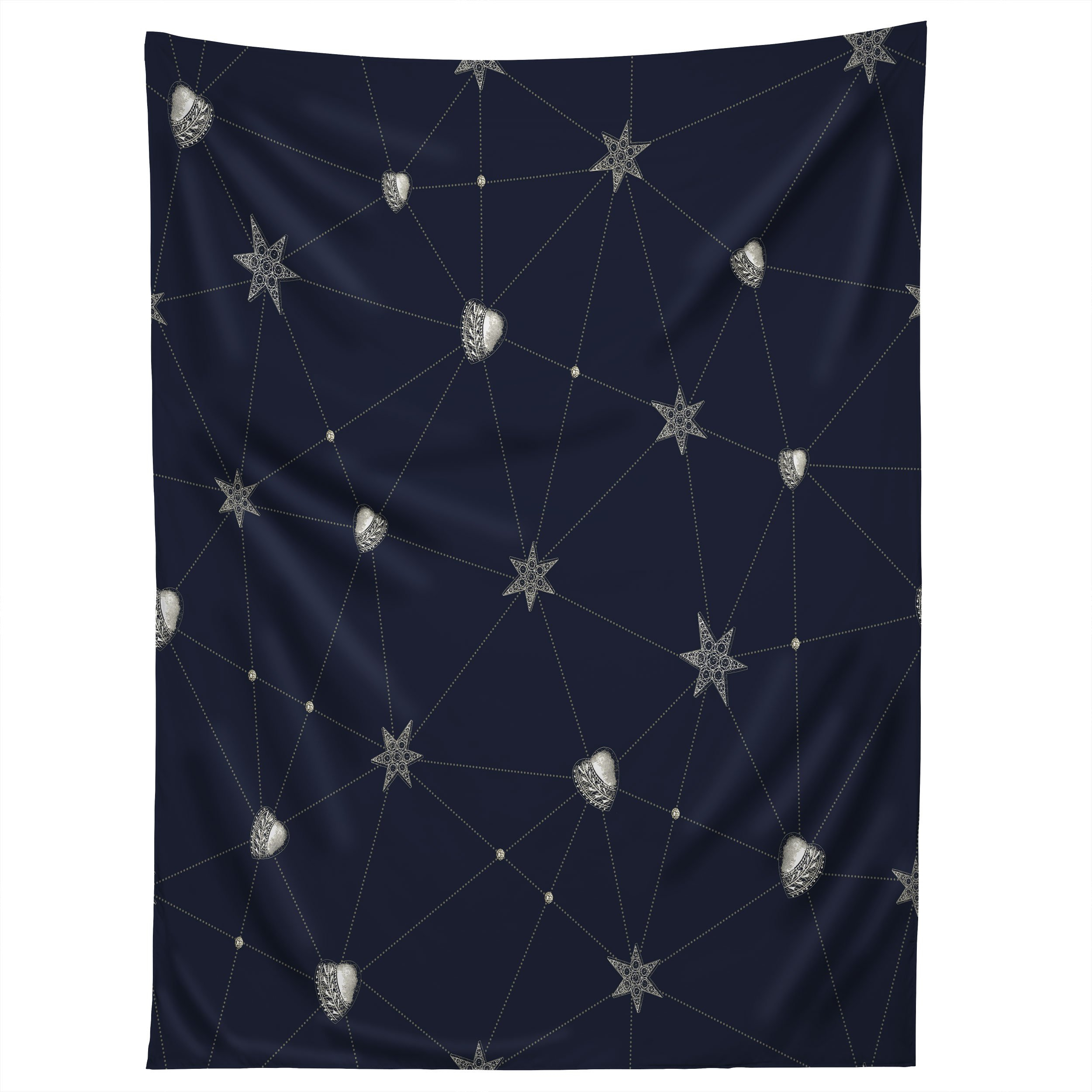 Image of Belle13 Love Constellation Tapestry