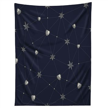 Belle13 Love Constellation Tapestry