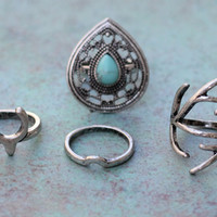 Antler Ring Set from Tinley Rose Accessories