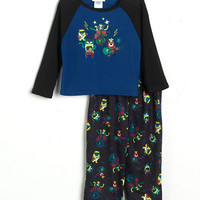 Capelli Boys 2-7 Two-Piece Rock 'N' Roll Monsters Pajama Set