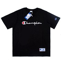 Champion Women Men Fashion Casual Short Sleeve