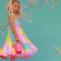 Candy Cotton Twirl Dress