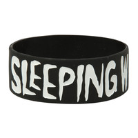 Sleeping With Sirens Anchor Rubber Bracelet